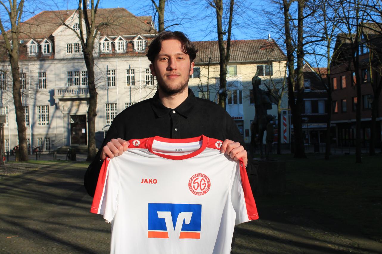 Patrick Schröter Neuzugang SG Sendenhorst 2021